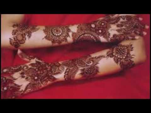 Bridal Mehndi : Modern bridal mehndi youtube