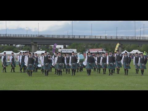 Inverary Pipe Band takes 2017 British Championship at Paisley