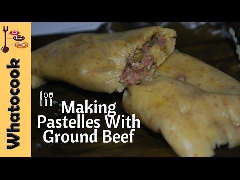 Trinidad 🇹🇹 Beef Pastelles Recipe🎄☺🖒