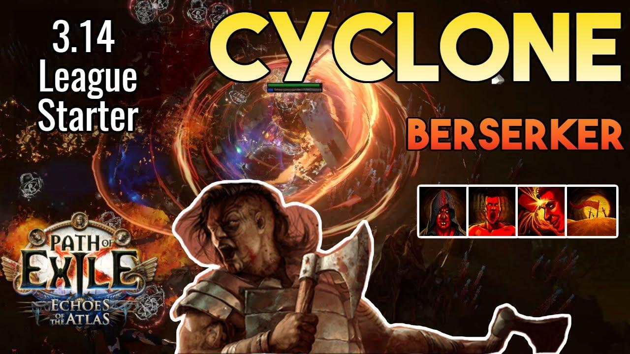 Download [3.14] Cyclone Build (League Starter) | Berserker | Ultimatum | Path of Exile 3.14