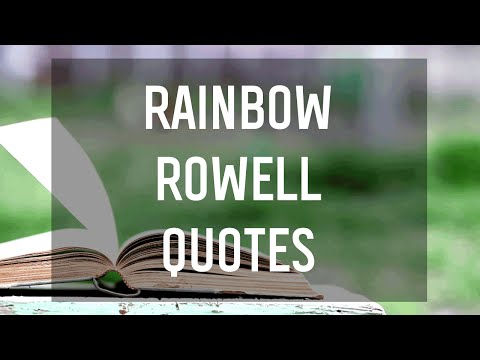 Best Quotes from Rainbow Rowell