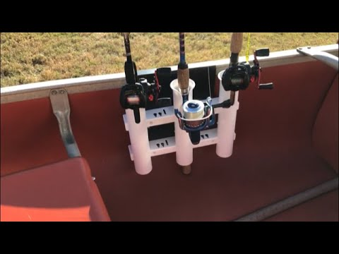Canoe Fishing Rod Holders DIY (Removable) (Kayak)