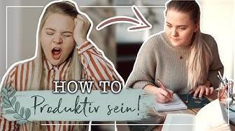 How to: Produktiv sein für Faule! 🙌🏼 - Für Schüler & Studenten! 🎓 (Hacks und Tipps)