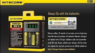 NITECORE i4 NEW charger battery batre baterai vape vapor terbaik VERSI 2016 NEW EDITION WITH LED SCREEN auto stop when battery ful terbaik di amrik pesaing kuat xtar efest utk 18650 16440 14460 dll HOT PROMO