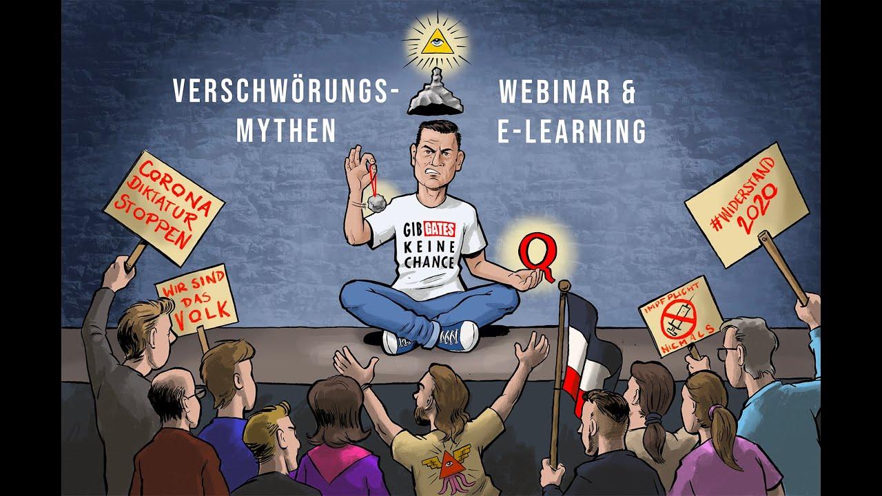 VERSCHWÖRUNGSMYTHEN  - Webinar & E-Learning