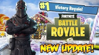 Fortnite Battle Royale Winter Update - NEW SEASON, BATTLE PASS, NEW WEAPON (Fortnite Gameplay)