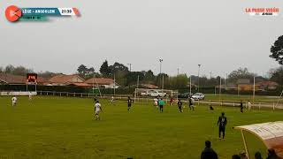 Football National 3 : Lège Cap Ferret - Angoulême (7 avril 2018)
