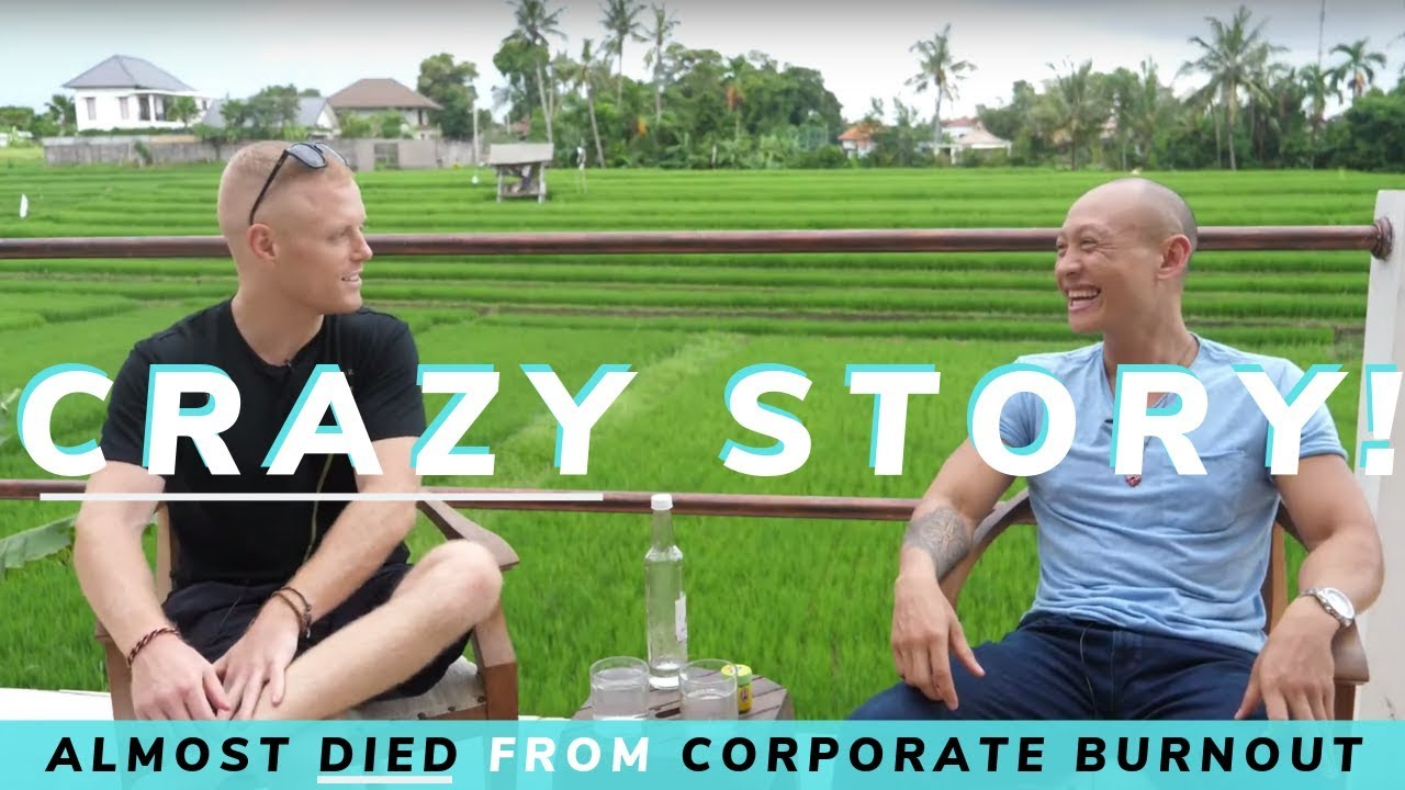 Almost Dying from Wolf of Wall Street Burnout to Ayahuasca Digital Nomad ?Chris Chiu ?Pt.2