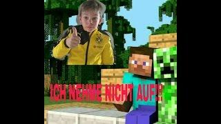 So sieht es aus wenn ich nicht aufnehmen minecraft | deutsch/German || clash of clans Freak ✌✌✌