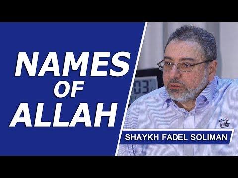 Names of Allah: Al-Wali, Al-Mawla & An-Nasir by Shaykh Fadel Soliman