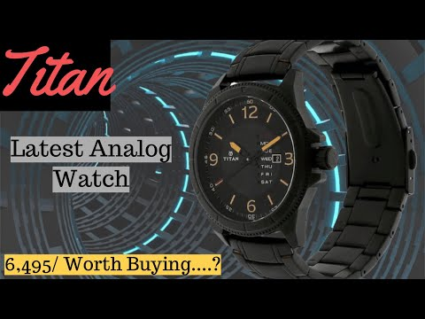 Titan Purple Steel Latest Analog Black Dial Men's Watch II NK1701NM01 - Unboxing & Review 🔥🔥🔥