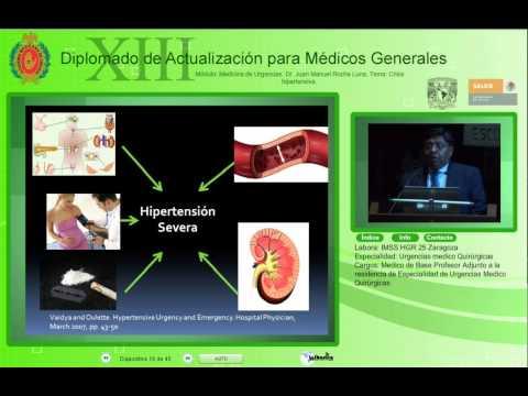 Crisis hipertensiva-Dr. Juan Manuel Rocha Luna-30Oct2012