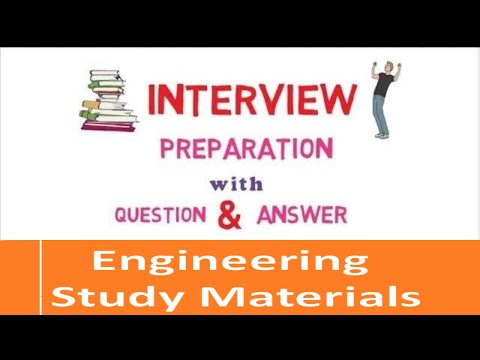 Interview Preparation with Questions And Answers| Freshers| Experienced| ENGINEERING STUDY MATERIALS