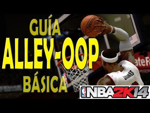 Como hacer alley oop en NBA 2K14