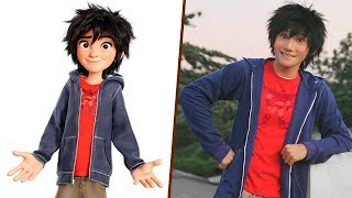 Download Video Big Hero 6 in Real Life! All Characters MP3 3GP MP4