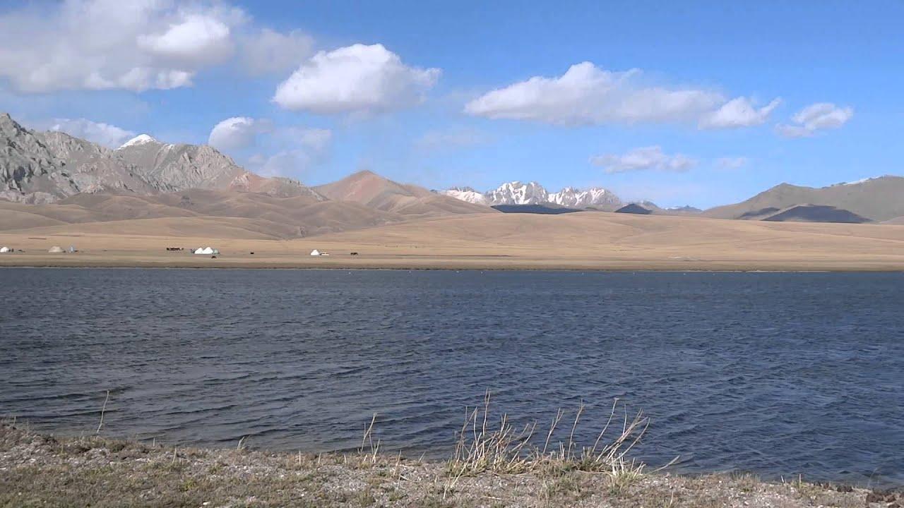 Panorama - Song Kul Lake, Kyrgyzstan - YouTube