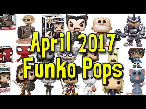 April 2017 Funko Pops | Overwatch Wave 2, Space Jam, Captain Underpants, Ratatouille, and MORE!