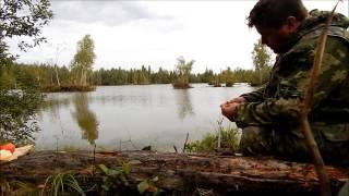 Охота, юшка и рыбалка!(Охота, немного побаловался с удочкой. Утка летала в сумерках, камера ее так и не увидела., 2014-08-22T11:42:40.000Z)