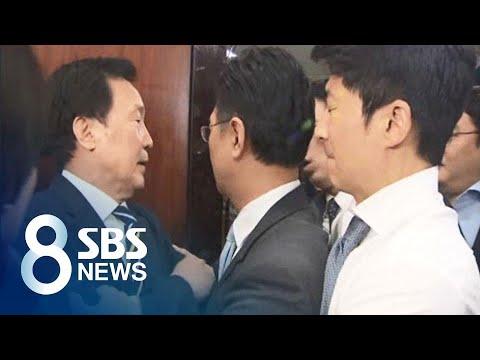 고성에 몸싸움 사태까지 벌어진 '바른미래당 내분' / SBS