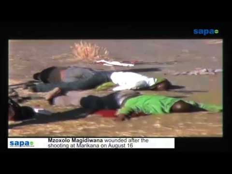 New Marikana shooting footage shown