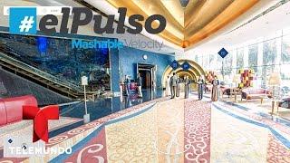 El Pulso | Tour virtual del hotel Burj Al Arab en Dubai | Telemundo