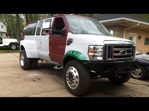 1999 Ford E-350 7.3 Off Road Super Duty Van Build Project