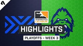 NYXL vs Vancouver Titans | Playoffs Week 3 | Day 3 - Overwatch League S2 Highlights