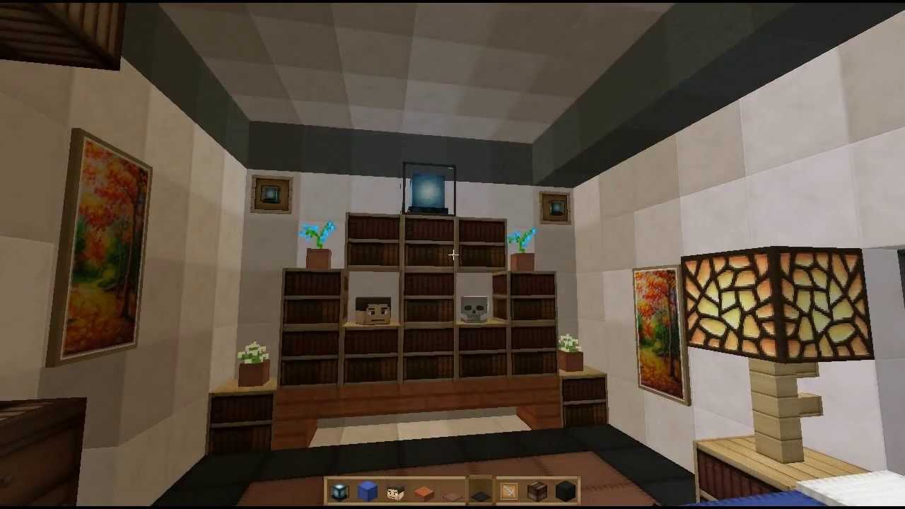 Minecraft: Make A Awesome Modern Room Interior Design For ...