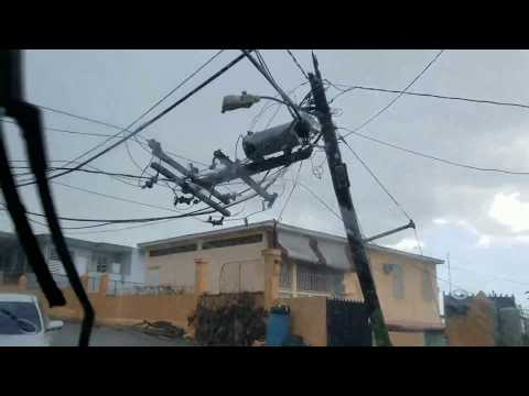 Buena Vista Area in Mayaguez (Video #1) (Hurricane Maria Dis