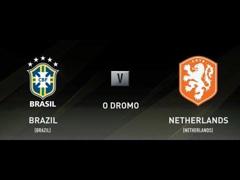 FIFA 18 BRAZIL VS HOLLAND XBOX ONE FULL MATCH GAMEPLAY (NETHERLANDS)