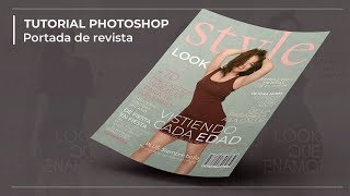 Tutorial Photoshop - Portada de revista