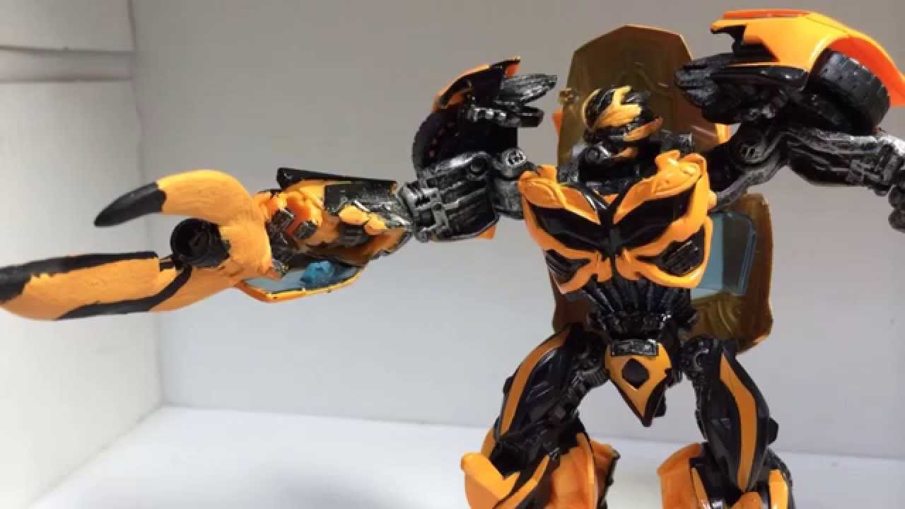transformers age of extinction custom bumblebee - YouTube