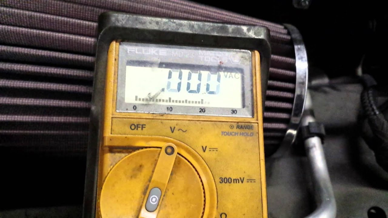 2002 Jeep Bad Pcm Driver To Alternator