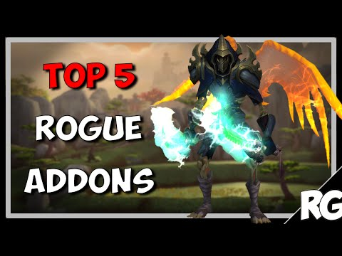 My TOP 5 Rogue Addons | WoW [Patch 6.2.4]