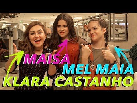BASTIDORES DO FILME - Maisa ft. Mel Maia e Klara Castanho