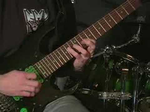 "Divided Sky Guitar Solo Demonstration ""Cycles"""