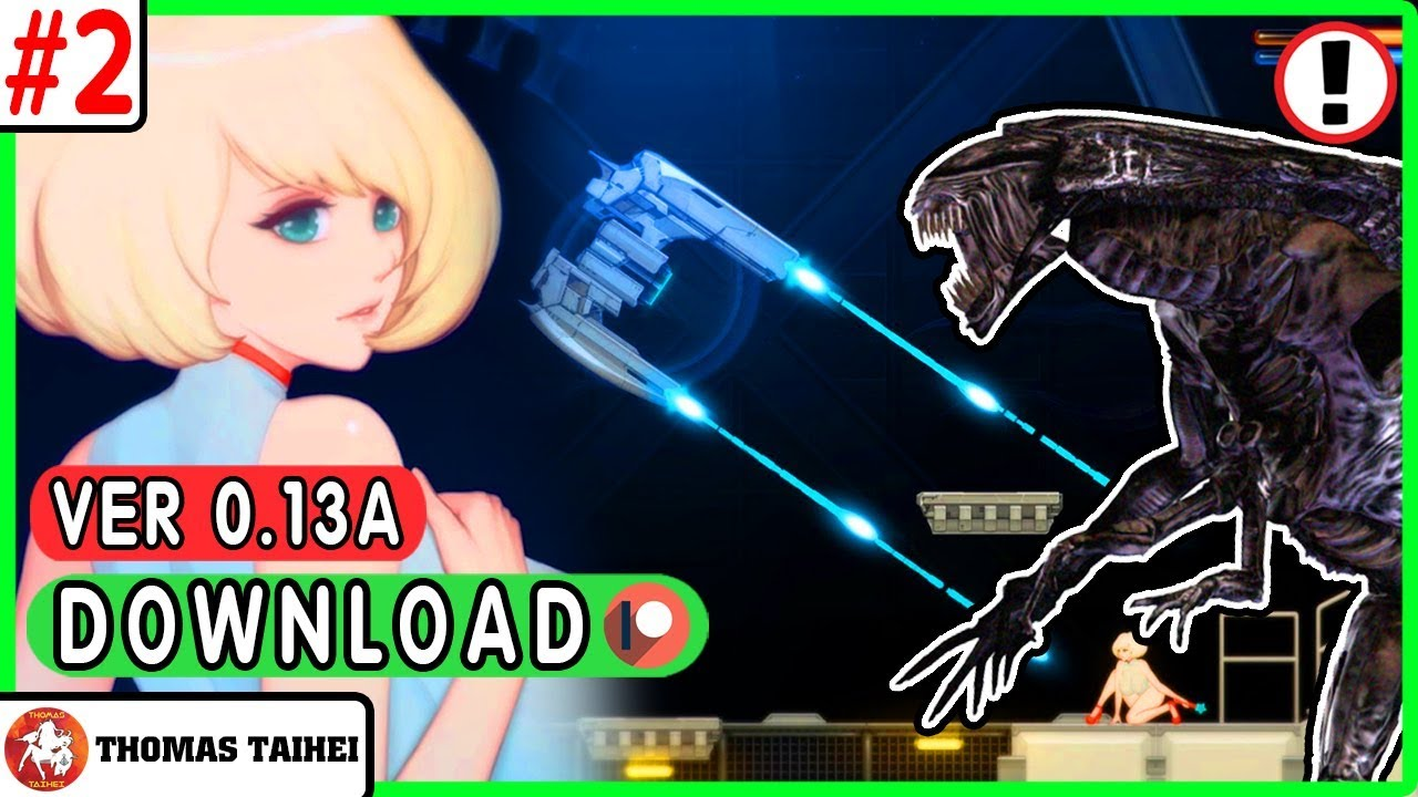 🔴GO TO THE CORE - Alien Quest EVE v0.13A (2019) | Full Walkthrough [H-Game] #1