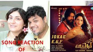 #Yash #Tamannaah Jokae   Video Song Reaction   KGF   Kannada  Foreigner VS Indian Reaction