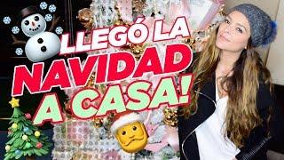 ¡LLEGÓ LA NAVIDAD A CASA! || Grettell Valdez