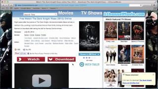 How to watch any FREE movie online!