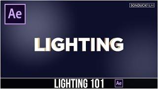 بعد الآثار التعليمي: الإضاءة أساسيات 101 & كيفية استخدام أضواء