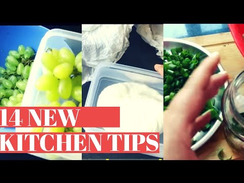14 Kitchen Tips and Tricks in Hindi|New  Kitchen Tips|Kitchen Hacks India|TIPS AND TRICKS|BEST TIPS