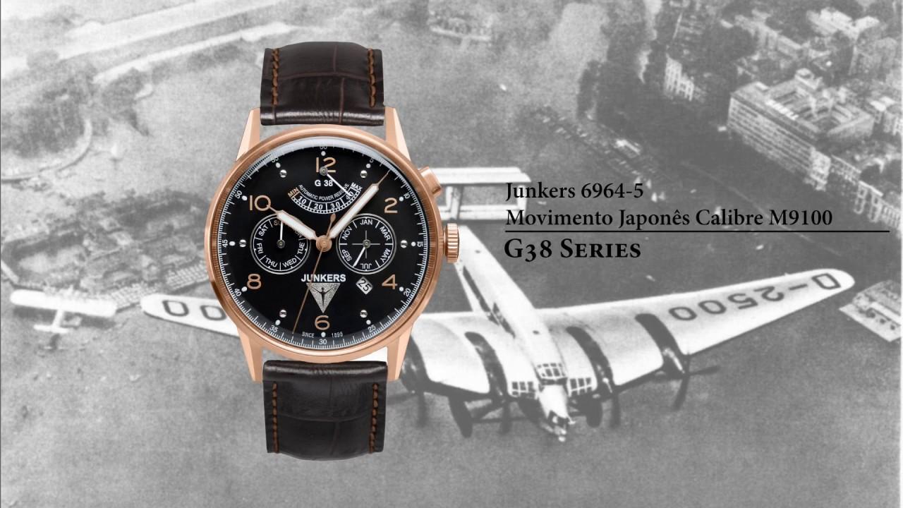 0c802044dbd Junkers G38 Series - YouTube