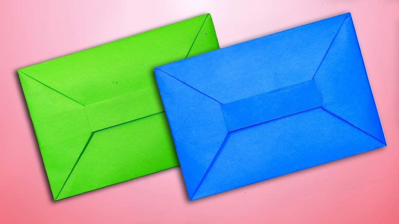3 Easy Origami Envelopes - YouTube | 720x1280