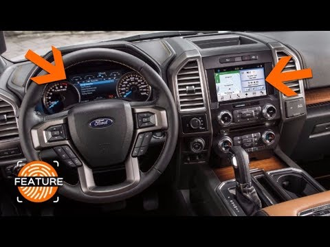 2018 FORD F150 SYNC 3 INFOTAINMENT SYSTEM & INSTRUMENT CLUSTER