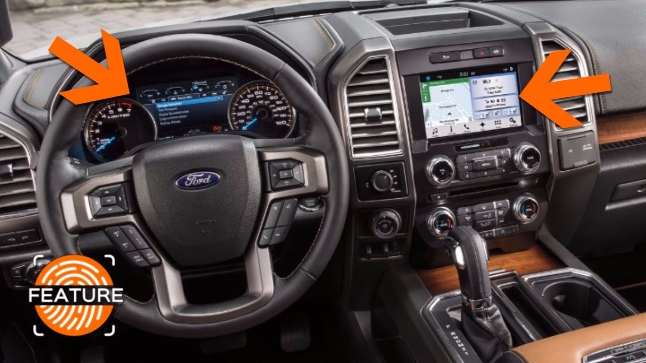 2018 Ford F350 Limited >> 2018 FORD F150 SYNC 3 INFOTAINMENT SYSTEM & INSTRUMENT CLUSTER - YouTube