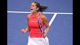 Donna Vekić vs Julia Goerges Extended Highlights | US Open 2019 R4