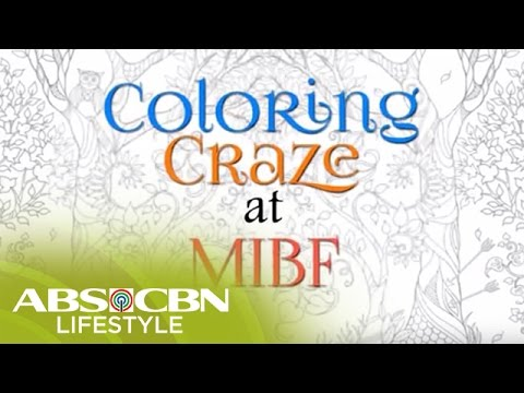 Coloring Craze at the 36th Manila International Book Fair