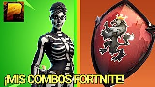 THE BEST COMBINATIONS OF FORTNITE SKIN( Skin + backpack) You can also use them!!