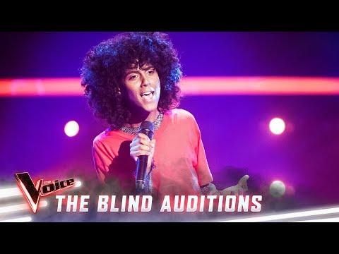 The Blinds:  Amanuael Visser sings 'Midnight Train To Georgia'  | The Voice Australia Season 8
